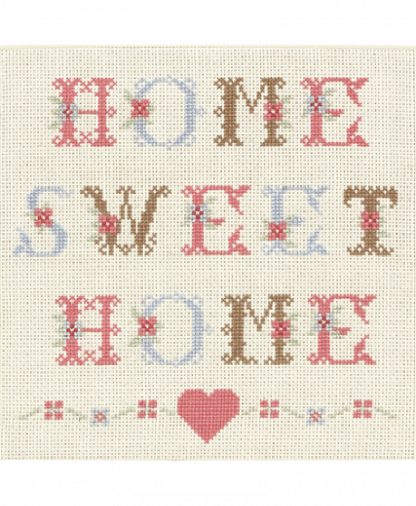 Anchor Cross Stitch Kit (ACS16) - Home Sweet Home