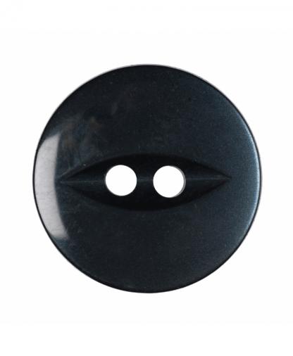 Round Fisheye Button - 26 Lignes (16mm) - Navy (G033926_19)