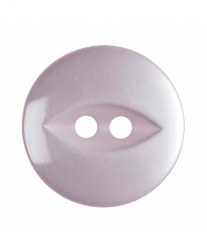 Round Fisheye Button - 26 Lignes (16mm) - Pale Pink (G033926_6)