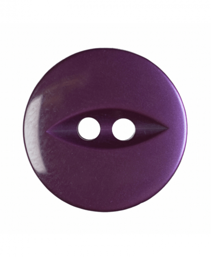 Round Fisheye Button - 26 Lignes (16mm) - Purple (G033926_14)