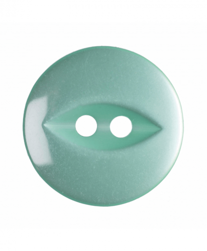 Round Fisheye Button - 26 Lignes (16mm) - Turquoise (G033926_35)