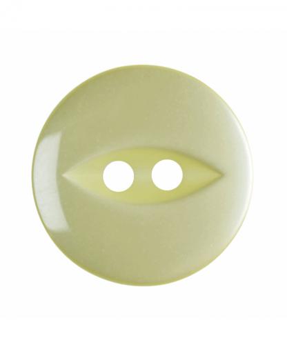 Round Fisheye Button - 26 Lignes (16mm) - Yellow (G033926_3)