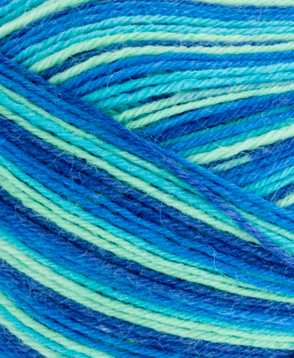 West Yorkshire Spinners Signature 4 Ply - Blue Lagoon (831) - 100g
