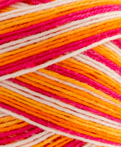 West Yorkshire Spinners Signature 4 Ply - Tequila Sunrise (856) - 100g