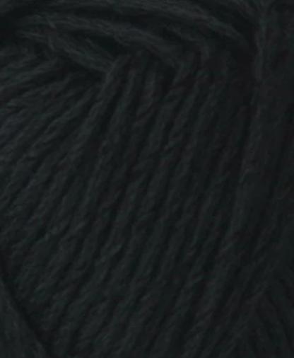 Cygnet Cottony DK - Black (217) - 50g