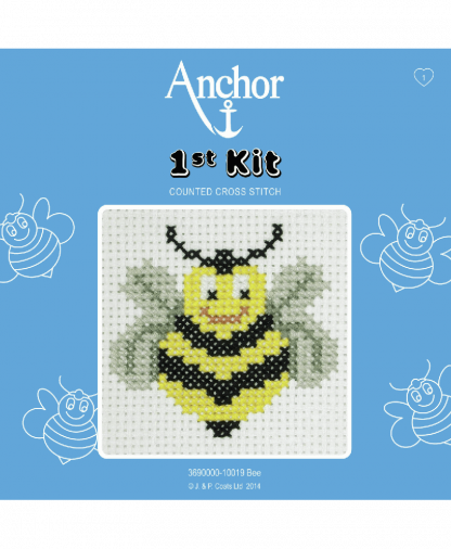 Anchor 1st Kit Counted Cross Stitch - Bee (10019)