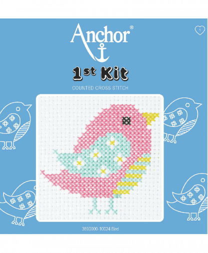 Anchor 1st Kit Counted Cross Stitch - Bird (10024)