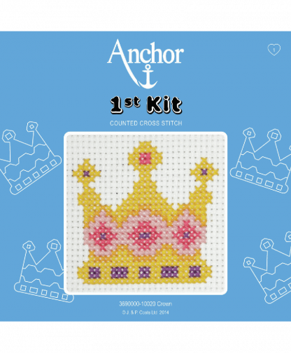 Anchor 1st Kit Counted Cross Stitch - Crown (10020)