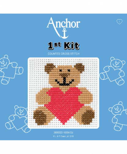 Anchor 1st Kit Counted Cross Stitch - Ed (10004)