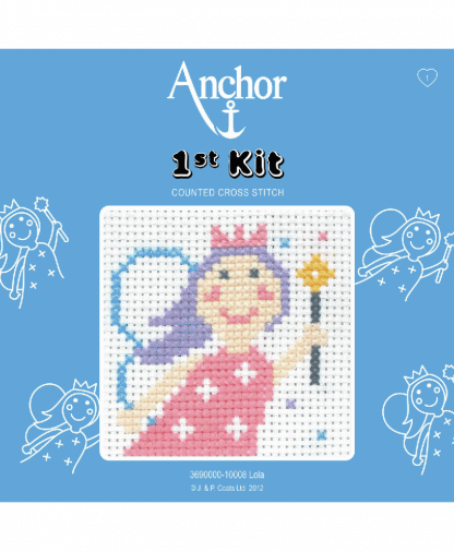 Anchor 1st Kit Counted Cross Stitch - Lola (10008)