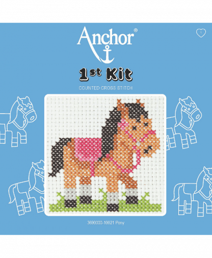 Anchor 1st Kit Counted Cross Stitch - Pony (10021)