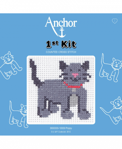 Anchor 1st Kit Counted Cross Stitch - Poppy (10009)