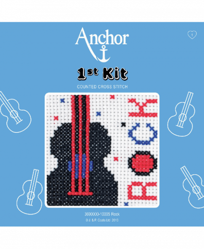 Anchor 1st Kit Counted Cross Stitch - Rock (10005)