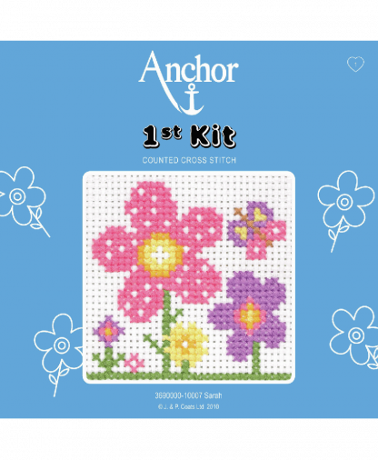 Anchor 1st Kit Counted Cross Stitch - Sarah (10007)