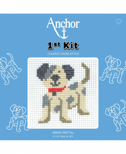 Anchor 1st Kit Counted Cross Stitch - Toby (10003)