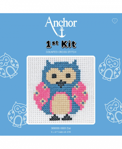 Anchor 1st Kit Counted Cross Stitch - Zoe (10001)