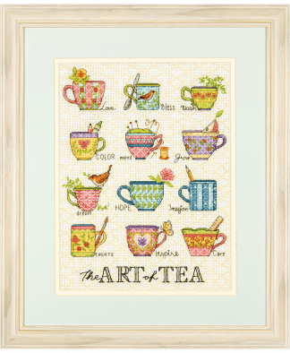 Dimensions Cross Stitch Kit - The Art of Tea (D70-35335)