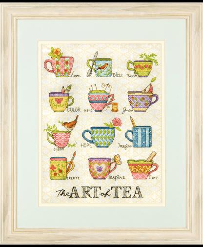 Dimensions Cross Stitch Kit - The Art of Tea (D70-35335)