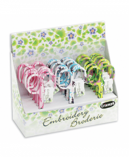 Groves- Floral Embroidery Scissors (B4814)