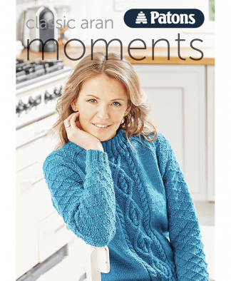 Patons - Classic Aran Moments - Book 009