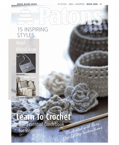 Patons - Learn to Crochet Book (PBN3826)