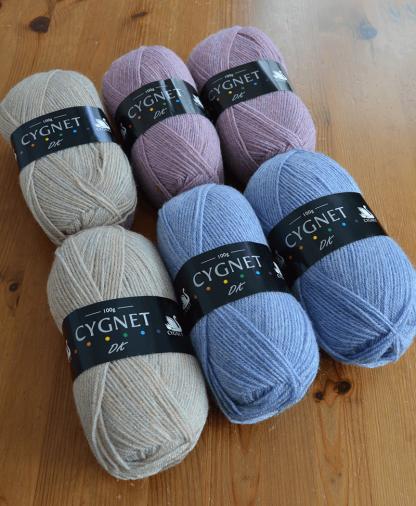 Cygnet DK Vintage Inspired Colour Pack