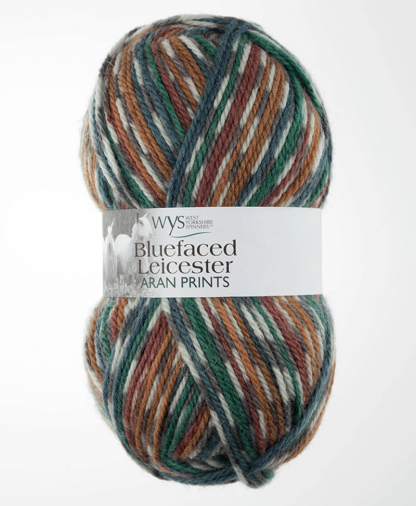 West Yorkshire Spinners - Bluefaced Leicester Aran Prints - 100g