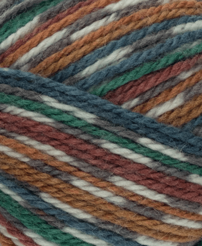 West Yorkshire Spinners - Bluefaced Leicester Aran Prints - Pheasant (855) - 100g