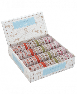 Groves Trim Collection - Woodland Ribbon (GTC100)