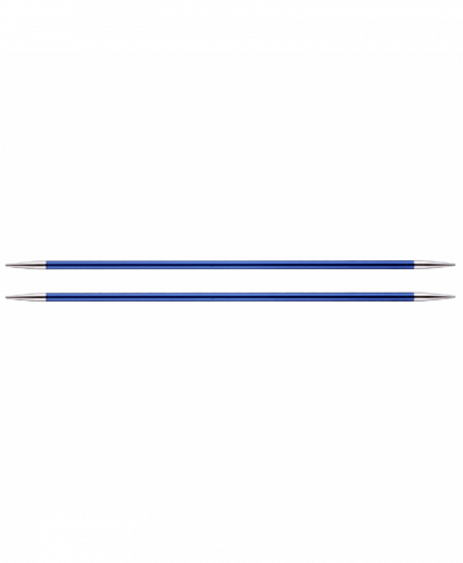 KnitPro Double Pointed Knitting Needles - Zing 15cm - 4.00mm