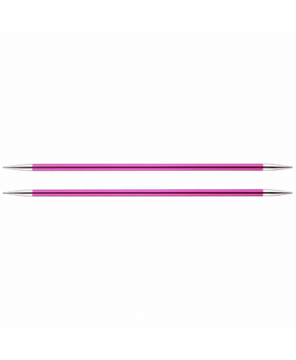 KnitPro Double Pointed Knitting Needles - Zing 15cm - 5.00mm