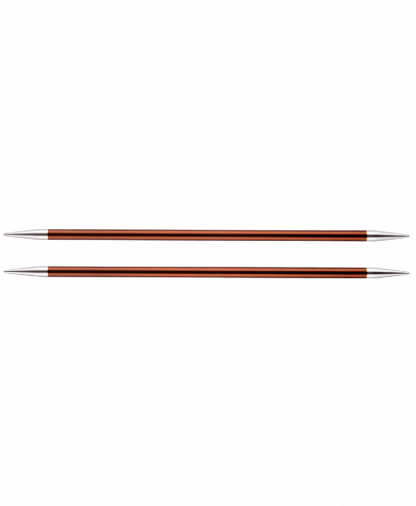 KnitPro Double Pointed Knitting Needles - Zing 15cm - 5.50mm