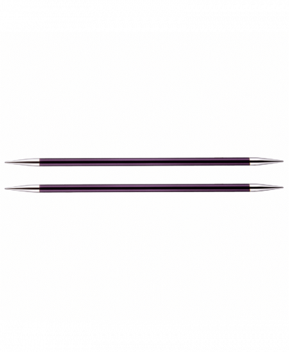 KnitPro Double Pointed Knitting Needles - Zing 15cm - 6.00mm