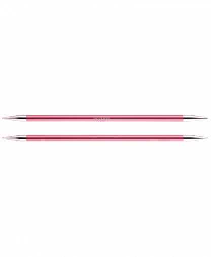 KnitPro Double Pointed Knitting Needles - Zing 15cm - 6.50mm