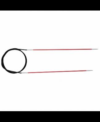 Knit Pro Fixed Circular Knitting Needles - Zing 80cm