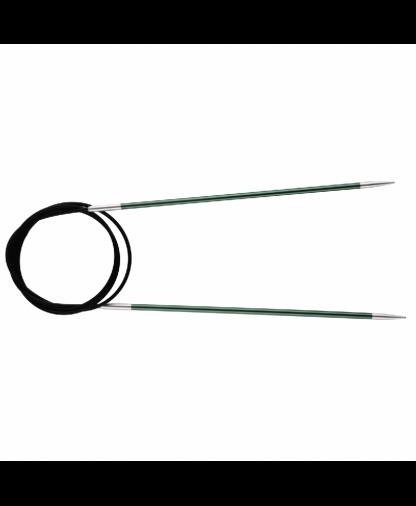 Knit Pro Fixed Circular Knitting Needles - Zing 80cm - 2.25mm (KP47122)