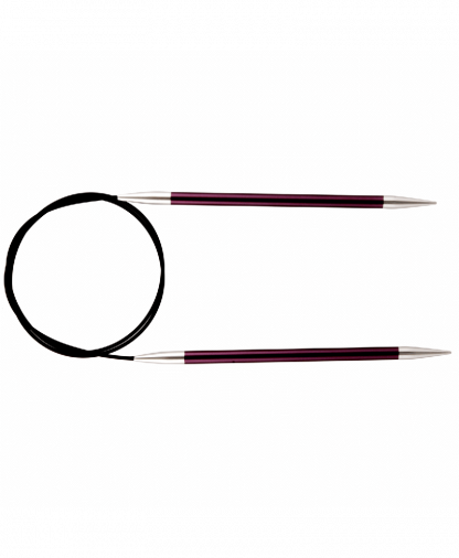 Knit Pro Fixed Circular Knitting Needles - Zing 80cm - 3.00mm (KP47125)