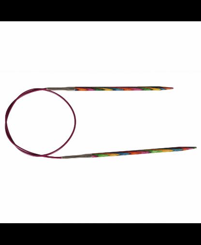 KnitPro - Symphonie Wood Knitting Needles - Fixed Circular 25cm