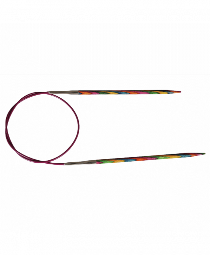 KnitPro - Symphonie Wood Knitting Needles - Fixed Circular 25cm - 2.50mm (KP20982)
