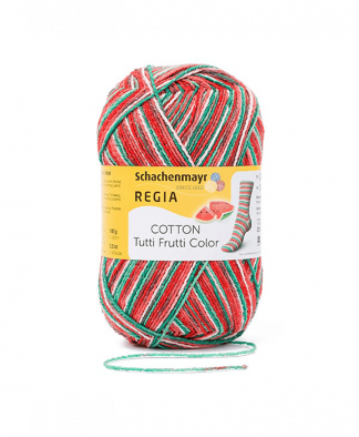 Regia - Cotton Tutti Frutti Color 4 Ply
