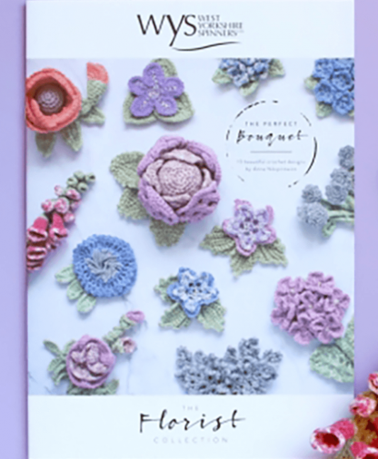 West Yorkshire Spinners - The Florist Collection - The Perfect Bouquet Crochet Pattern Book