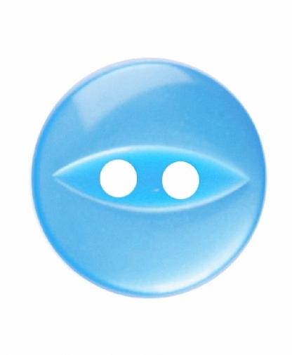 Round Fisheye Button - 18 Lignes (11mm)