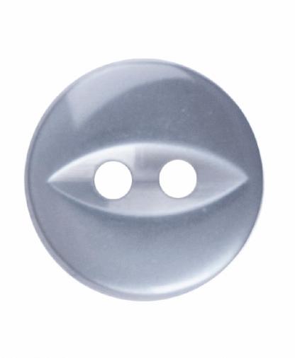 Round Fisheye Button - 18 Lignes (11mm) - Grey (G033918_031)