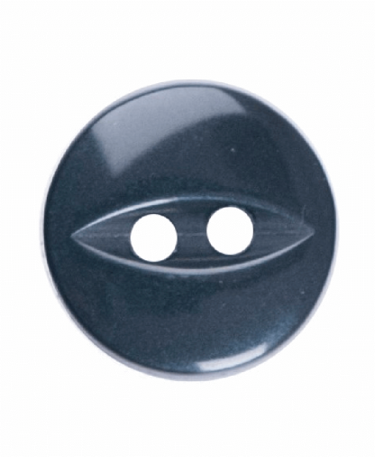 Round Fisheye Button - 18 Lignes (11mm) - Navy (G033918_019)