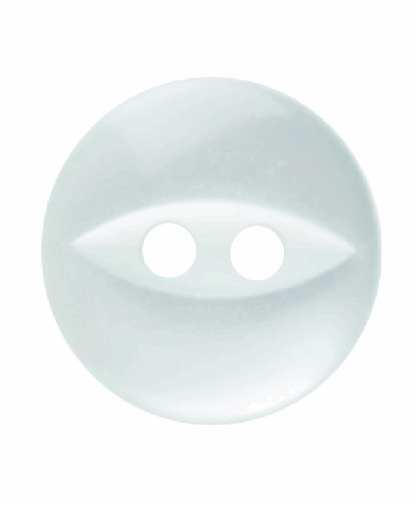 Round Fisheye Button - 18 Lignes (11mm) - Pale Teal (G033918_037)