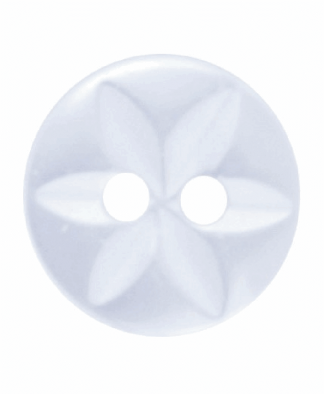 Round Star Button - 18 Lignes (11mm)