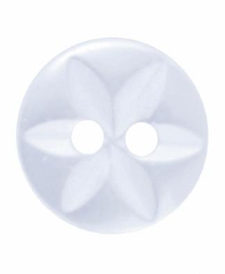 Round Star Button - 18 Lignes (11mm)
