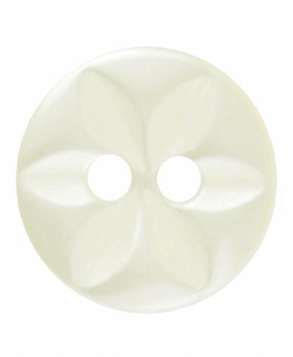 Round Star Button - 18 Lignes (11mm) - Yellow (G203218_3)