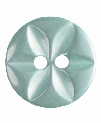 Round Star Button - 22 Lignes (14mm)