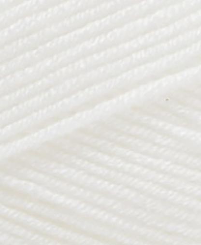 Stylecraft Bambino DK - White (7111) - 100g